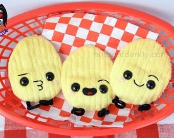 Chipper Chip potato chip food plush