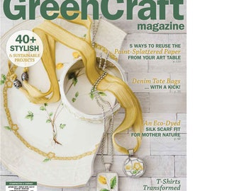 GreenCraft Magazine - Autumn or Summer 2017 - NEW from Stampington