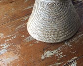 The Vintage Straw Wicker Visor