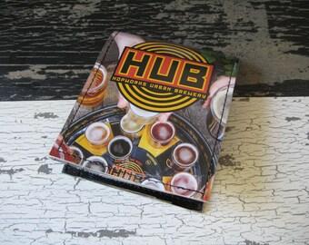 Hopworks Urban Brewery Bi-Fold Beer Wallet