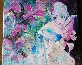 Original Painting | Mix media | Collage | Feminist Art