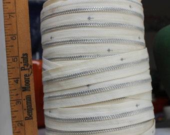 Metal Zipper Tape Roll 3 lbs 14 oz VINTAGE by Plantdreaming