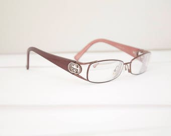 GUCCI Eyeglass Frames 1980s - 90s  Optical frames Italy GG2811 /RH141