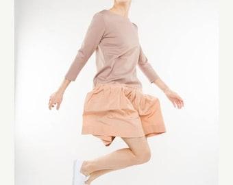 SALE - Flower dress | Orange dress | Lovely dress | LeMuse flower dress
