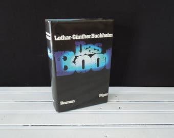 Das Boot 1973 Vintage German Language Edition - Decorative Book with Dust Jacket - World War Two German U Boat