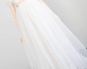 Ivory regency style dress for Feeple60 SD Feeple Luts Soom Fairyland
