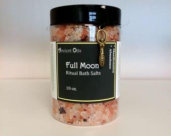 Full Moon Ritual Salt Bath