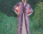 Kimono Cardigan / Boho Kimono / Sheer/ Maxi / Kimono Jacket / Gypsy Chic / Kimono Jacket For Women /