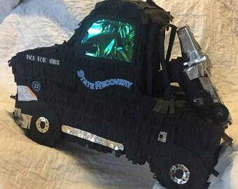 Tow Truck Pinata