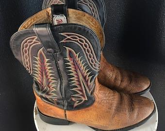 Vintage Men's Tony Lama Cowboy Boots Sz. 11