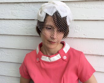 Vintage Veil Hat Net Wedding Bridal