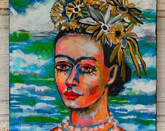 Good Enough A Frida inspired painting