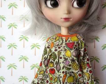 Veggie Sweater for Pullip,Momoko & Barbie