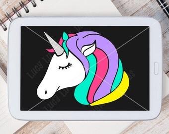 Unicorn, Digital Cut File