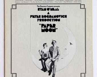 Paper Moon Vinyl Soundtrack -- Good Condition
