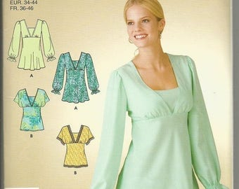 Simplicity 3842 It's So Easy Tunic or Top Pattern SZ 8-18