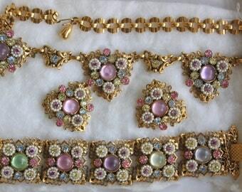 Selro Jewelry Set Bracelet Necklace Earrings