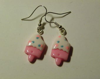 Dangle Ice Cream Earrings  770 / Free Shipping within US