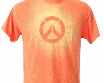 Overwatch Bleach Dye Tee Shirt