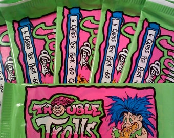 Trouble Trolls Trading Cards