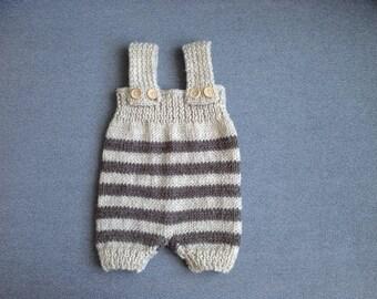newborn knit romper, newborn romper, newborn props, newborn girl, newborn photo prop, knit baby romper, newborn, baby, newborn boy props