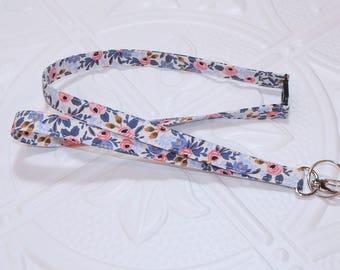 Fabric Lanyard Breakaway - Lanyard For Keys - Lanyard Badge Holder - Rifle Paper Co Lanyard