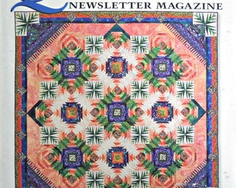 Quilters Newsletter Magazine, No. 382, May 2006 Issue