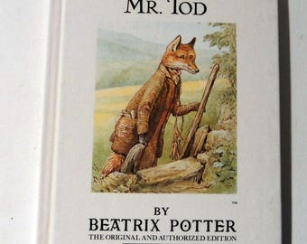 Beatrix Potter Childrens Book Vintage Book The Tale of Mr. Tod