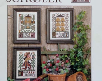 Cross Stitch Pattern | G H I | The Prairie Schooler | Book No. 104 | Counted Cross Stitch Pattern | Out Of Print