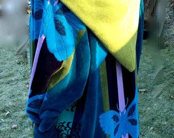 Boho Quirky Upcycled Coat