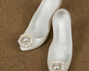 Kingdom Doll Shoes White Bliss
