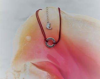 Believe charm friendship bracelet