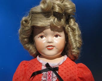 Shirley Temple Repro Doll