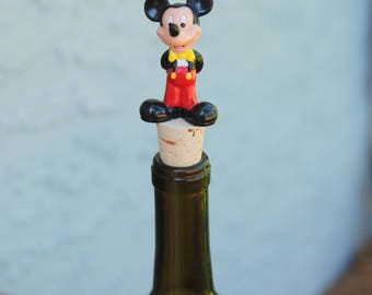 Mickey Mouse Wine Bottle Stopper