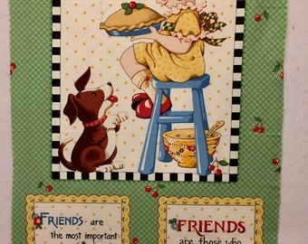 Recipe for Friendship by Mary Engelbreit - Moda - Out of Print