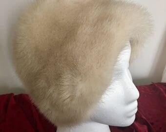 Vintage Saks Fifth Avenue Fur Hat