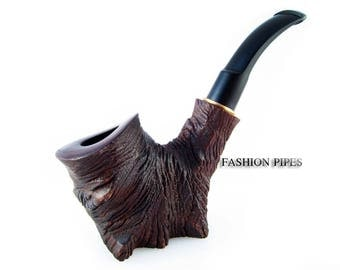 "New Collection Tobacco pipe ""STUMP"" Smoking pipe/pipes-Wooden Pipes/pipe. Wood Pipe Handcrafted Tobacciana pipe"