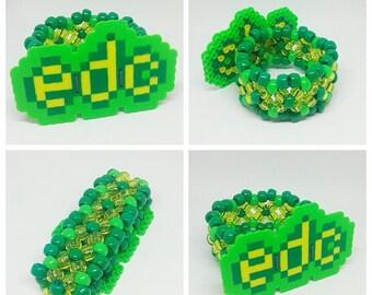 EDC Kandi Cuff - Green