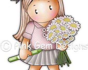 Digi Stamp School Girl Chloe 2