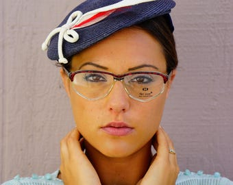 Vintage Neo-Vision Eyeglass 1990's New Old Stock Glasses Brown And clear Frames Made In Italy