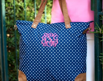 Personalized Shoulder Bag, Monogram Shoulder Bag, Monogram Handbag, Personalized Gifts, Bridesmaid Gift, Wedding Party Gifts, Tote Bag