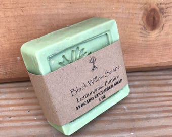 Lemongrass Pumice Dry Skin Soap, All Natural Soap, Eczema Soap, Bar Soap, Soap Bar, Soap for Acne, Face Soap, Natural Soap, Scrub Soap Bar