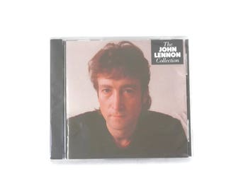 Sealed John Lennon CD Collection from 1989 Give Peace a Chance Instant Karma etc