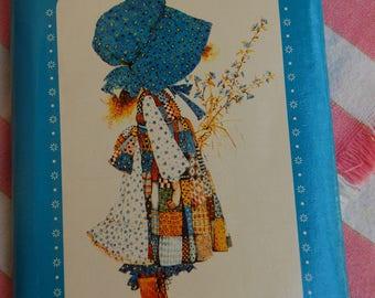 Holly Hobbie Photo Album. Blue Holly Hobbie photo album 1970s Holly Hobbie 3 by 5 inch photo album