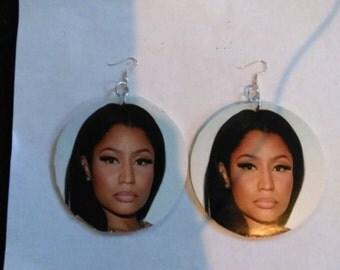 large nicki minaj earrings