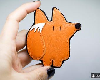 Fox Brooch *Orange Fox* - Badge | Pin