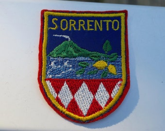Vintag Sorrento Embroidered Travel Patch