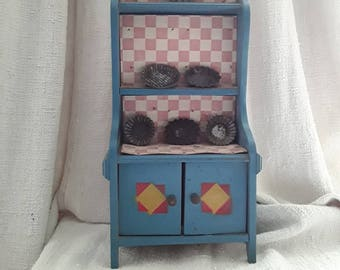 French Vintage, Toy Cupboard, France, Dresser, Painting, Old Doll,  French, JDA Living, French Décor, France, Old, Toys, Vintage Childhood