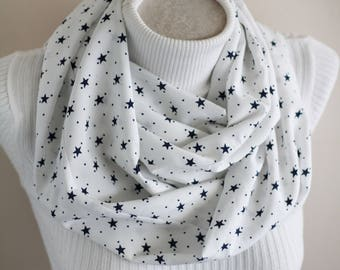 Star print scarf   Etsy