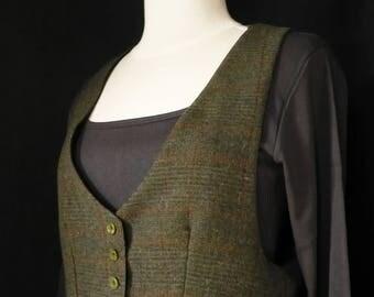 rudie dandy style green Scottish Wool Cardigan